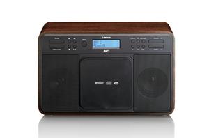 Lenco DAR-040DAB+/FM Radio with Bluetooth, CD Playerand USB, Eiche