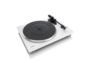 Lenco L-87 WH, Audio-Plattenspieler mit Riemenantrieb, Weiß, Gleichstrom, 3,6 W, 0,3 A, 420 mm