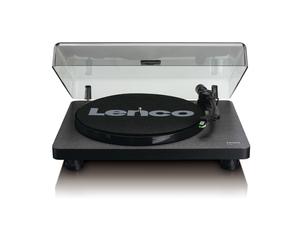 Lenco L-30 Plattenspieler mit integriertem Stereo-Vorverstärker, Schwarz