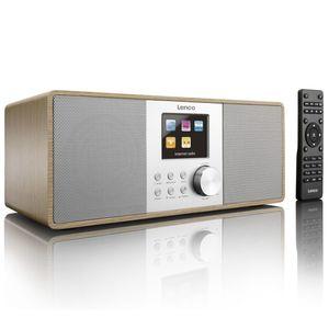Lenco DAB+/FM Internetradio DIR-200 Braun