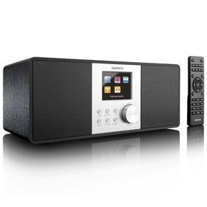 Lenco DAB+/FM Internetradio DIR-200 Schwarz
