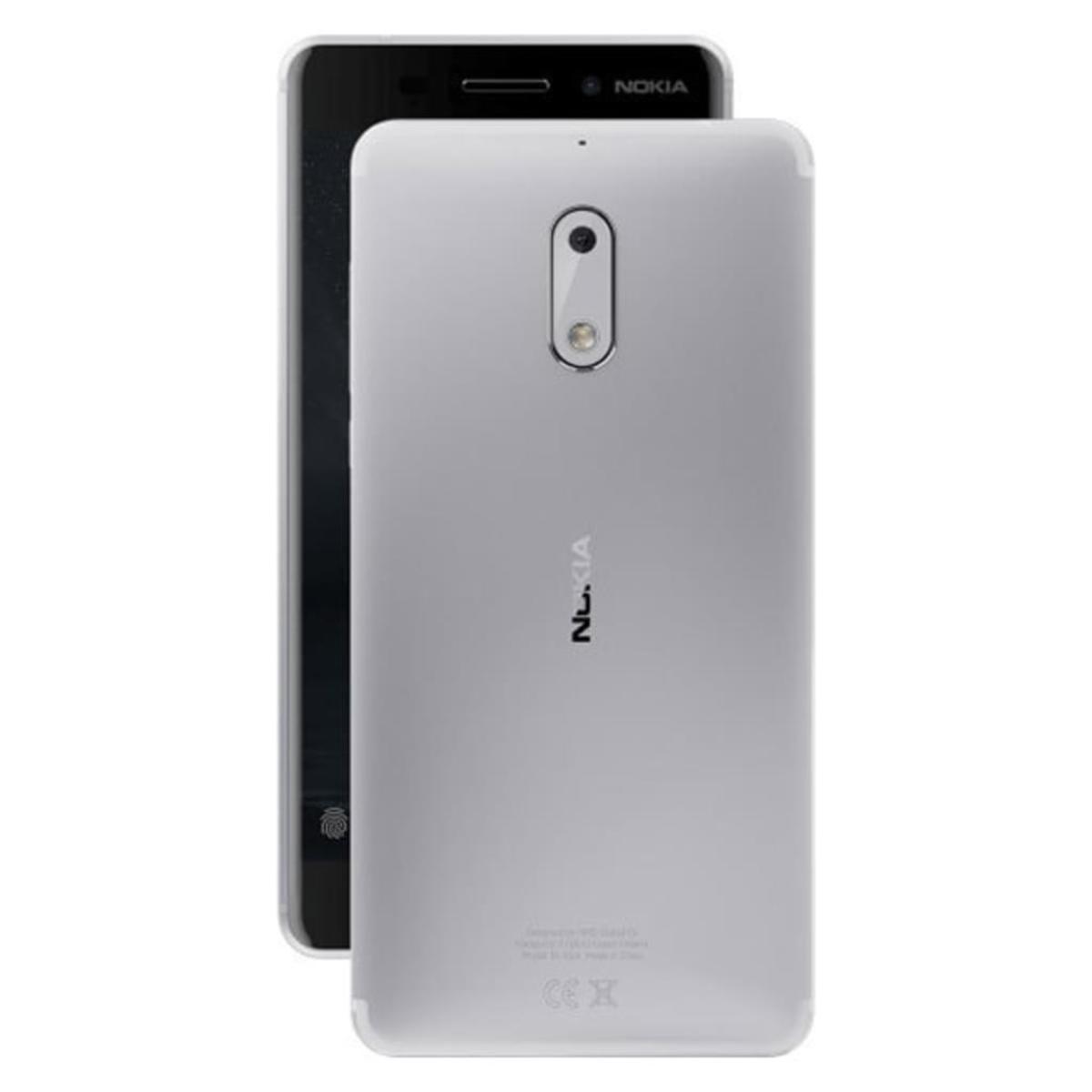Bild 2 von Nokia 6 Dual-SIM, Farbe:Silber
