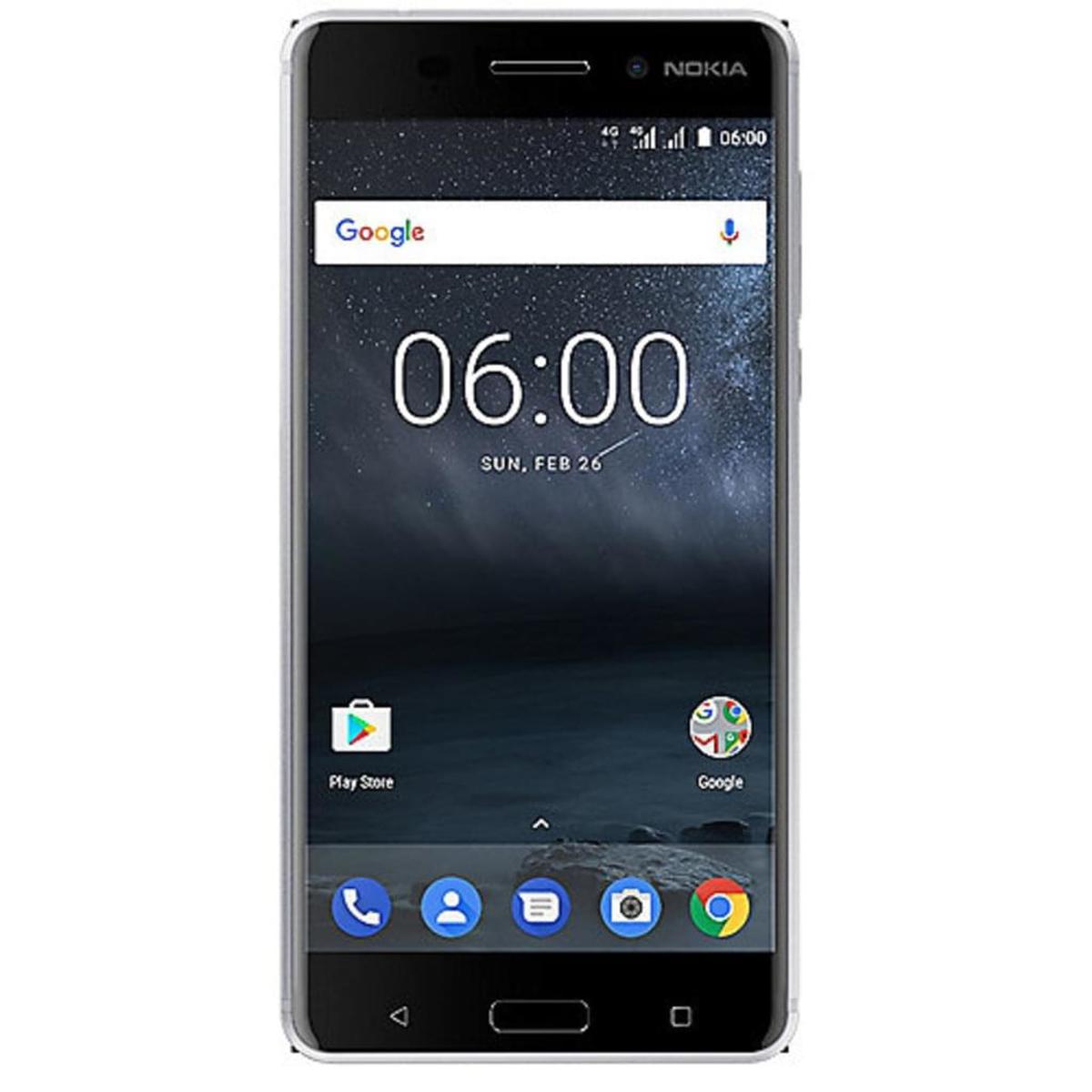 Bild 3 von Nokia 6 Dual-SIM, Farbe:Silber