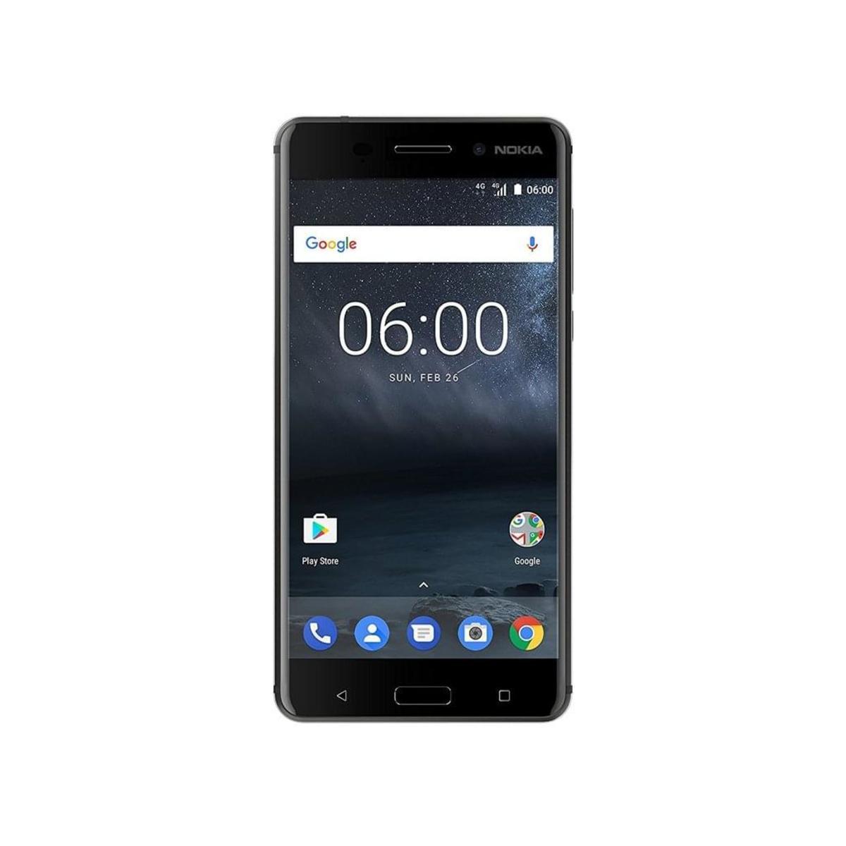 Bild 4 von Nokia 6 Dual-SIM, Farbe:Silber