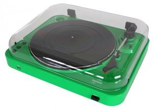 Lenco L-85 Plattenspieler mit USB-Funktion grün