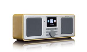 Lenco DIR-150 Internet Stereo Radio with FM and Bluetooth, Holz