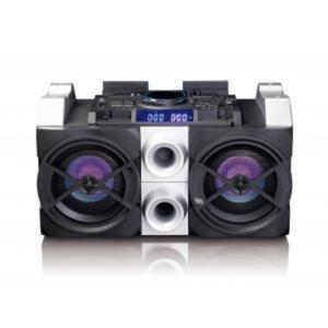 Lenco PMX-150High Power DJ Mixer System mitBluetooth, USB, FM Radio undParty Lights