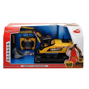 Dickie Toys - Spielfahrzeuge, Mighty Excavator; 203729000
