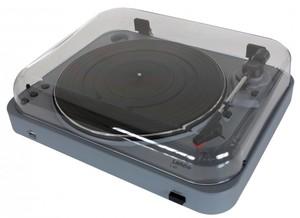 Lenco L-85 Plattenspieler mit USB-Funktion silber