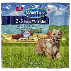 Winston 2x 5 feine Würstchen Rind/Geflügel 2.23 EUR/100 g