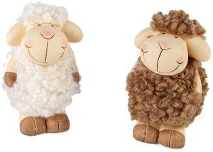Schaf - aus Terrakotta - 6 x 6 x 9,5 cm - 1 Stück