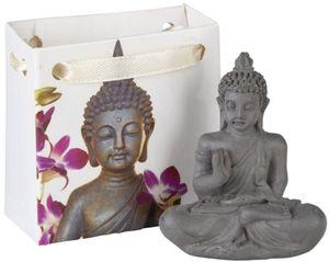 Buddha - aus Polyresin - 5 x 5,5 cm