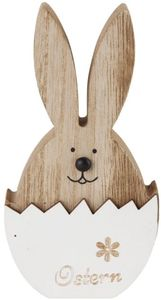 Dekohase - aus Holz - 8 x 15 cm