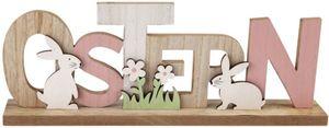 Deko-Schriftzug - Ostern - aus Holz - 35 x 5 x 13 cm