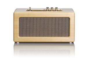 Lenco Blutooth Box - 20 Watt (RMS) - Inklusive: Netzadapter - Farbe: Braun; BT-300O