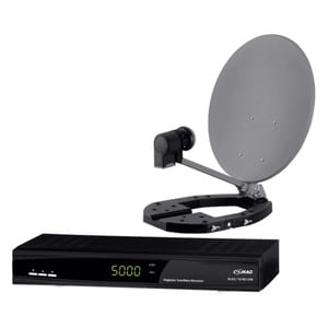 COMAG Digitale HDTV Mini-Sat-Anlage Komplett-Set MDS 60