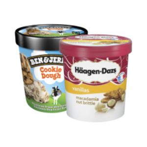 Häagen-Dazs Eis oder Ben & Jerry's Ice CreamHäagen-Dazs Eis