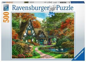 Ravensburger Puzzle Cottage im Herbst