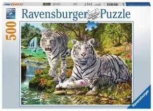 Ravensburger Puzzle Weiße Raubkatze