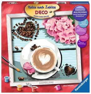 Ravensburger Malen nach Zahlen Kaffeeliebe
