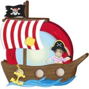 Laternenbastelset Pirat