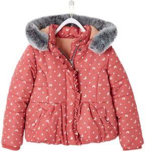 Winterjacke mit Fleecefutter Gr. 98/104 Mädchen Kleinkinder