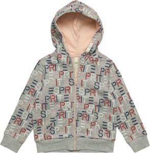 sweatshirt cardigan w hood w aop - Strickjacken Gr. 116/122 Mädchen Kinder