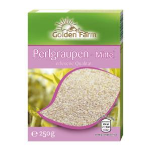 GOLDEN FARM     Perlgraupen