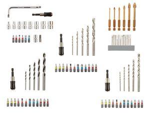 PARKSIDE® Bohrer / Bit und Stecknuss Sets mit Tasche