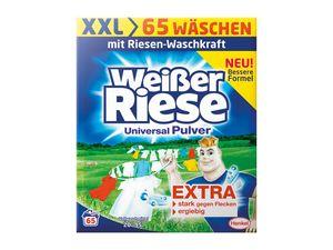 Weißer Riese Pulver XXL 65 Wäschen