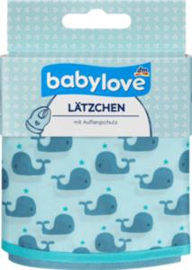 babylove Lätzchen aus Polyester, Wale / Sterne