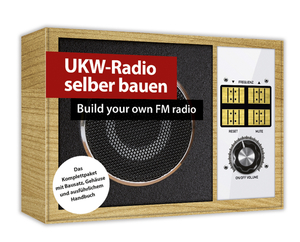 Komplettpaket UKW Radio selber bauen Franzis-Verlag