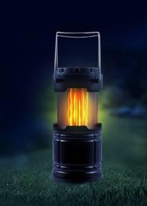 LED Laterne mit zwei verschienden Lichtmodi, zusammenklappbar