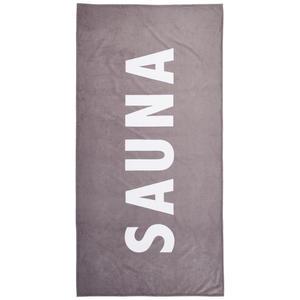 Linea Natura SAUNATUCH 90/180 cm, Grau
