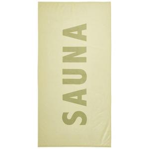 Linea Natura SAUNATUCH 90/180 cm, Grün