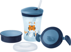 "Nuk Set Evolution Cups ""Learn to drink"" Set, ab 6 Monate, Boy"