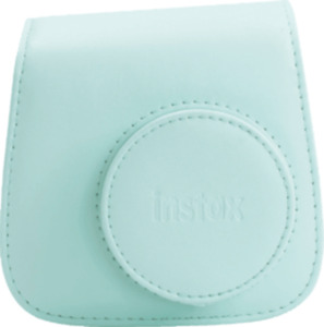 Fuji Instax mini 9 camera case ice blue  Kunstleder