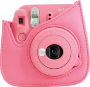 Fuji Instax mini 9 camera case flamingo pink Kunstleder