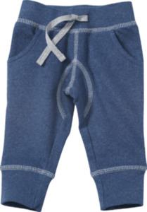 ALANA Baby-Sweathose, Gr. 62, in Bio-Baumwolle, blau, für Mädchen und Jungen