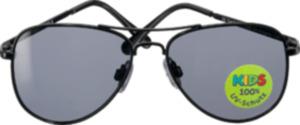 SUNDANCE Sonnenbrille für Kinder Pilot schwarz
