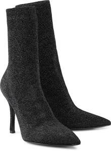 High-Heel-Stiefelette von Bianca Di in schwarz für Damen. Gr. 36,37,38,39,40,41