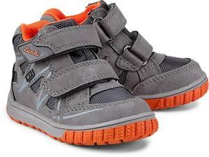 Klett-Sneaker von Lurchi in grau für Jungen. Gr. 21,22,23,24,25,26