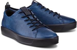 Sneaker Soft 8 von Ecco in blau für Herren. Gr. 40,42,44,45
