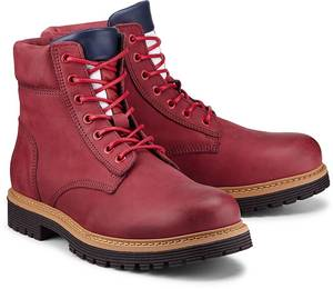 Trend-Boots von Tommy Jeans in rot für Herren. Gr. 41,42,43,44,45