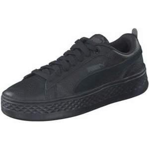 Puma Lifestyle Puma Smash Platform L Sneaker Damen schwarz