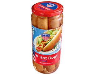 AMERICAN Hot Dogs, 6 Stück