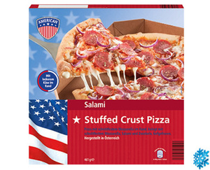 AMERICAN Pizza Stuffed Crust