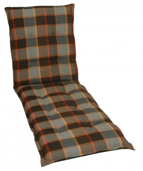 GO-DE Rollliegen-Auflage ,  190 x 60 x 9 cm, Stehsaum, Kreissteppung