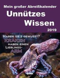 Unnützes Wissen 2019 Abreißkal.