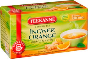Grüner Tee Ingwer / Orange, 35g